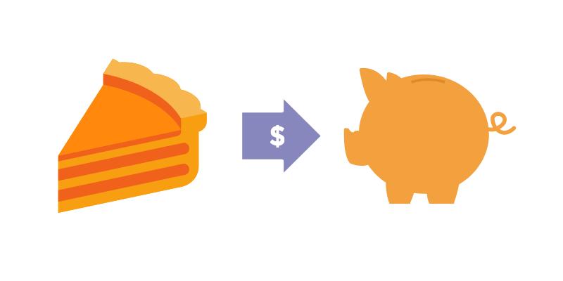 Saving Money graphic