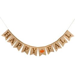 """Banner saying """"Happy Fall"""""""
