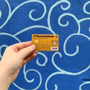 1st Financial Bank USA gold student credit card