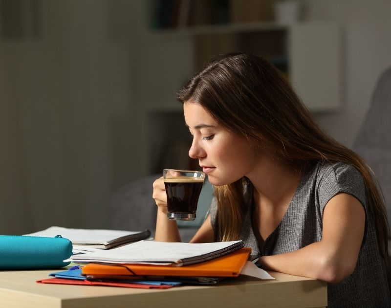 drink less caffeine