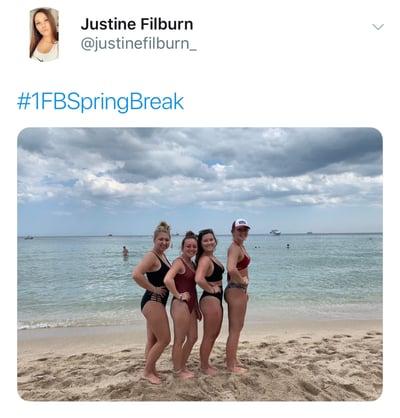 Justine spring contest winner