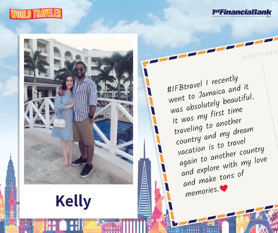 kelly world traveler winner