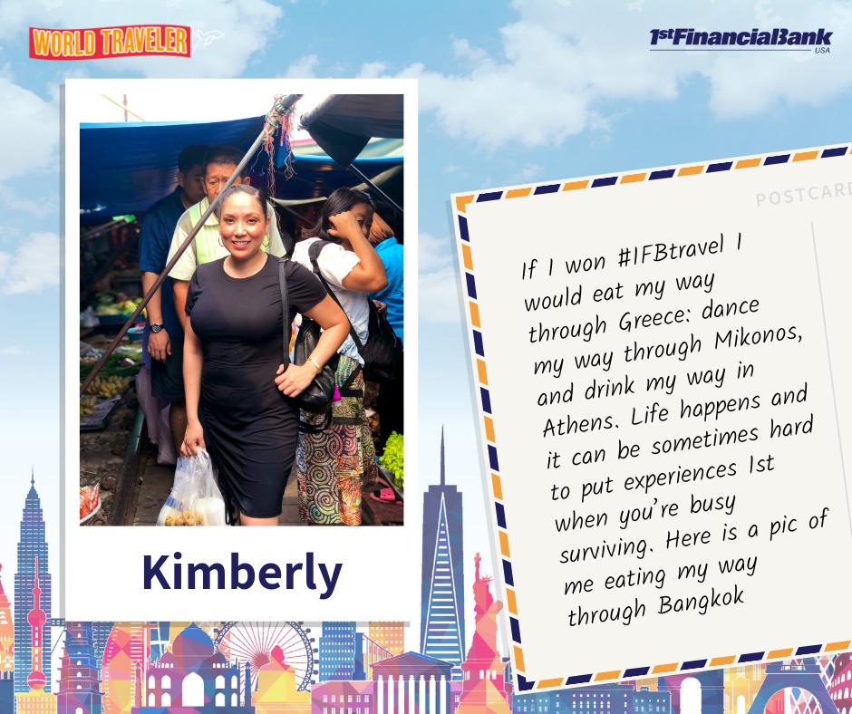 kimberly world traveler winner
