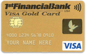 1st Financial Bank USA Gold Card