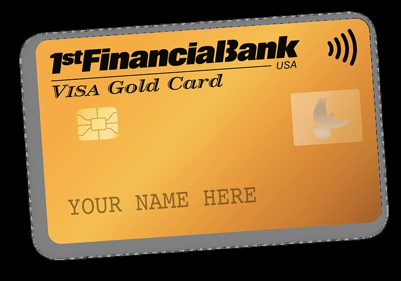 1fb gold card blank shadow sm