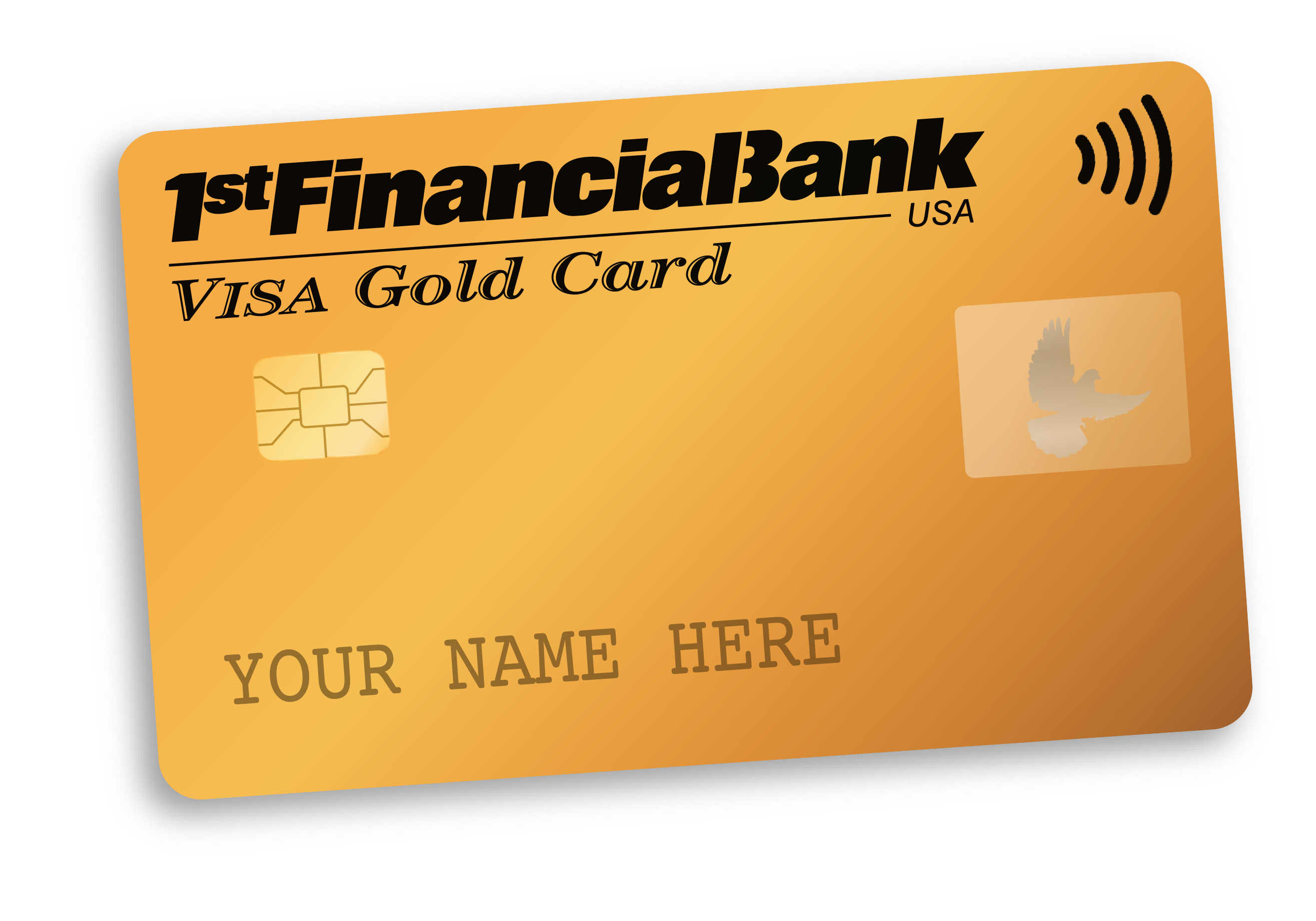 1st Financial Bank USA student credit card gold apply now