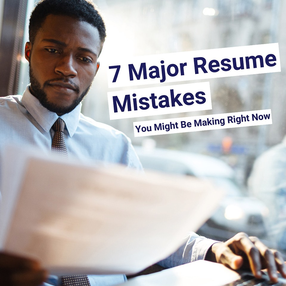 7 magor resume mistakes you might be making
