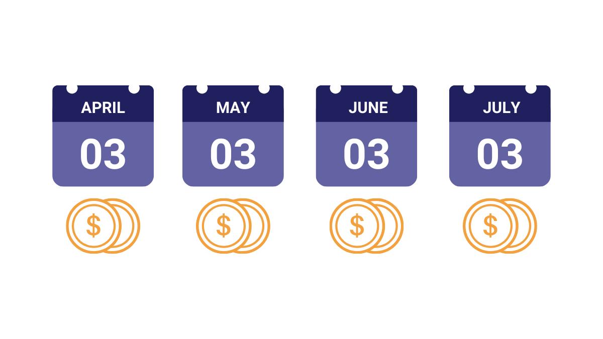 debt payment plan calendar