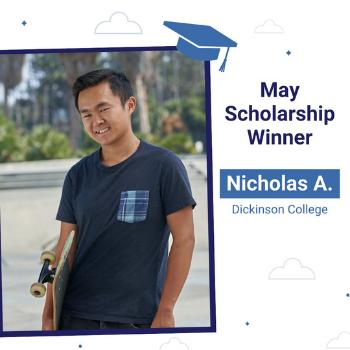 May scholarship winner