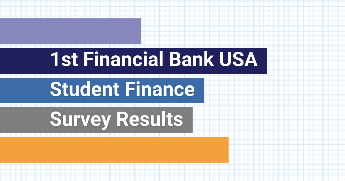 1st Financial Bank USA 2020 Student Finance Survey Results